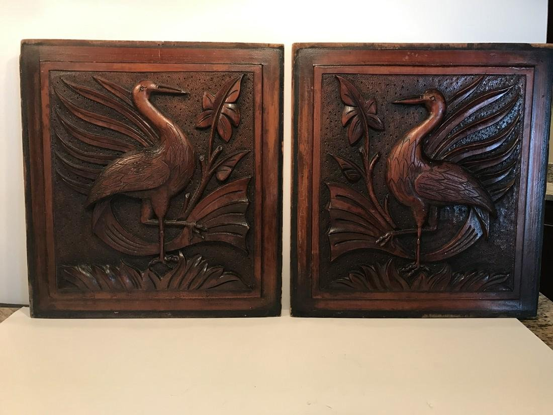 American Carved Panels