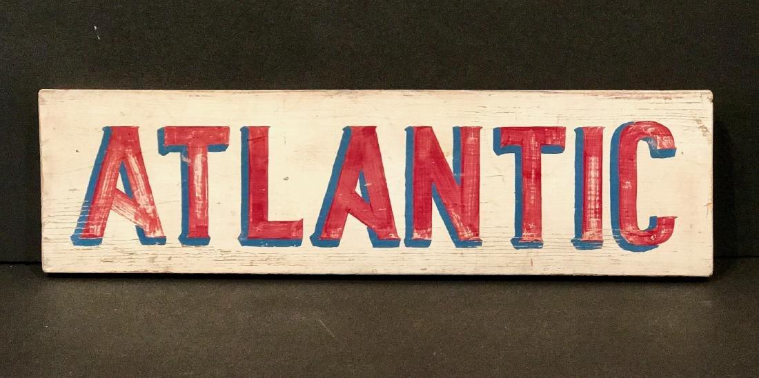 Atlantic Sign, Circa 1940
