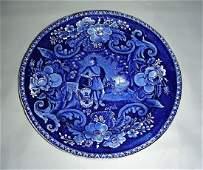 American Historical Staffordshire Plate Circa 1825