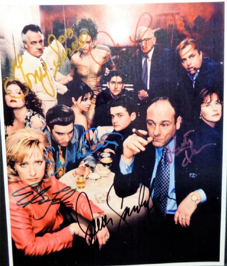 The Sopranos - Signed Portrait