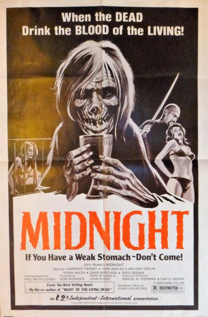 John Russo's -MIDNIGHT- Large Poster