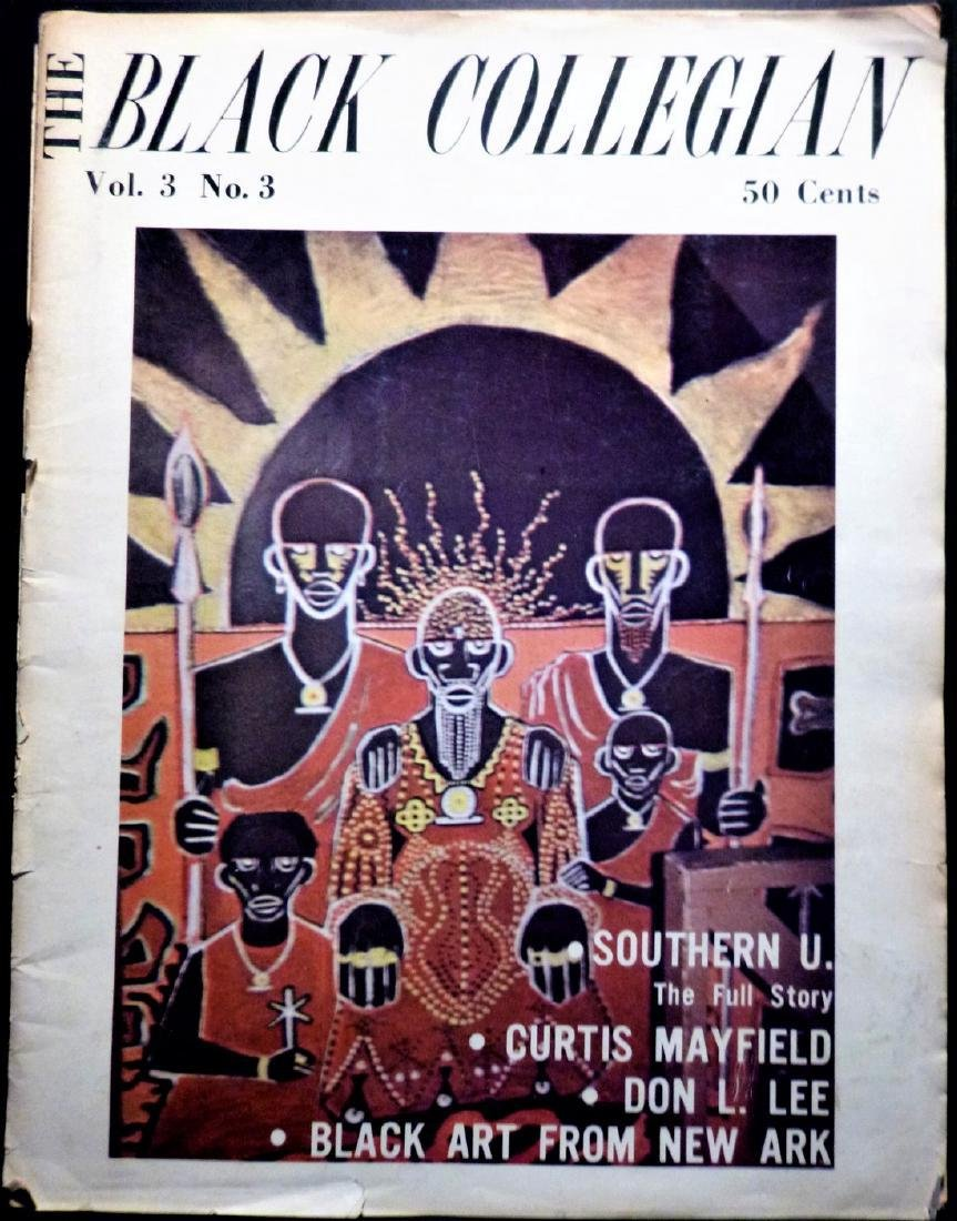 The Black Collegian -An Early Issue, 1973