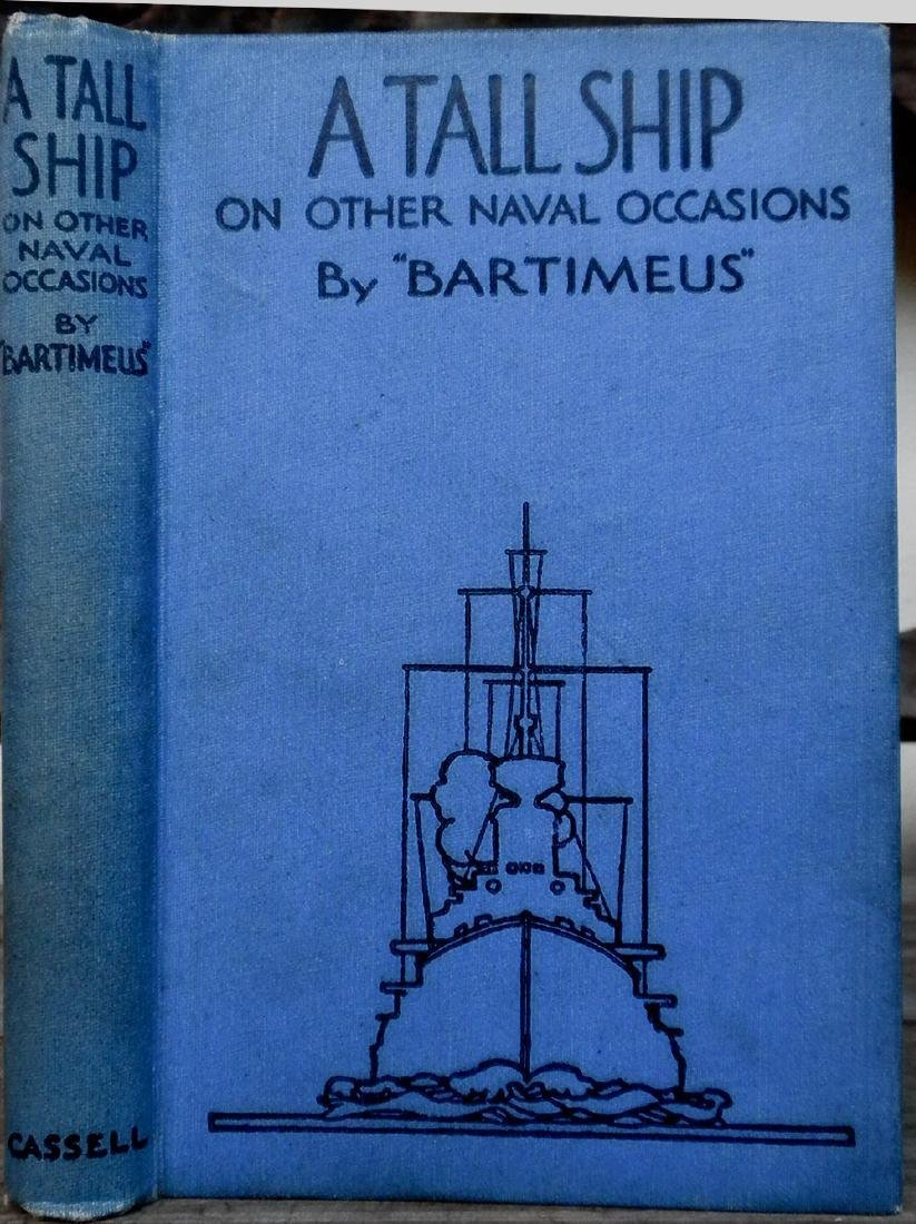 """A Tall Ship on Other Naval Occasions """"Bartimeus"""""""