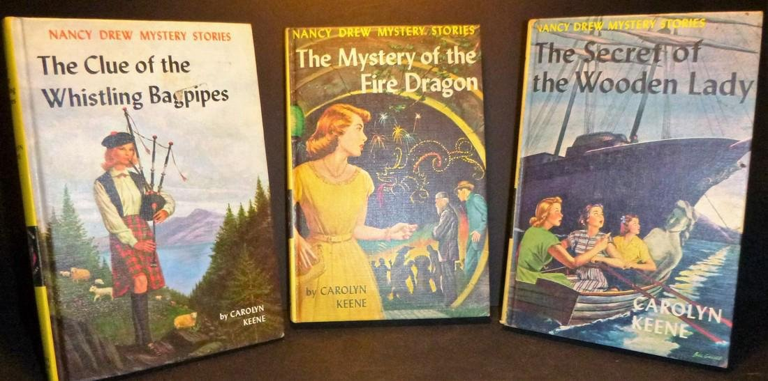 ThreeCaroline Keene Mysteries - Nancy Drew