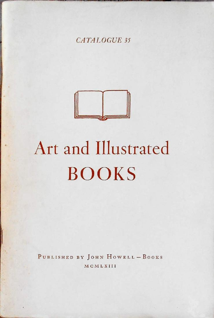 Art and Illustrated Books, Catalogue Number 35 HOWELL