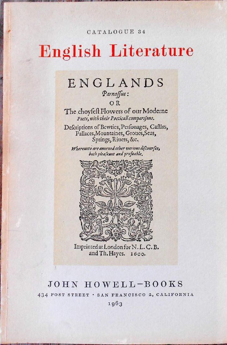 English Literature: Books 18th 19th Centuries