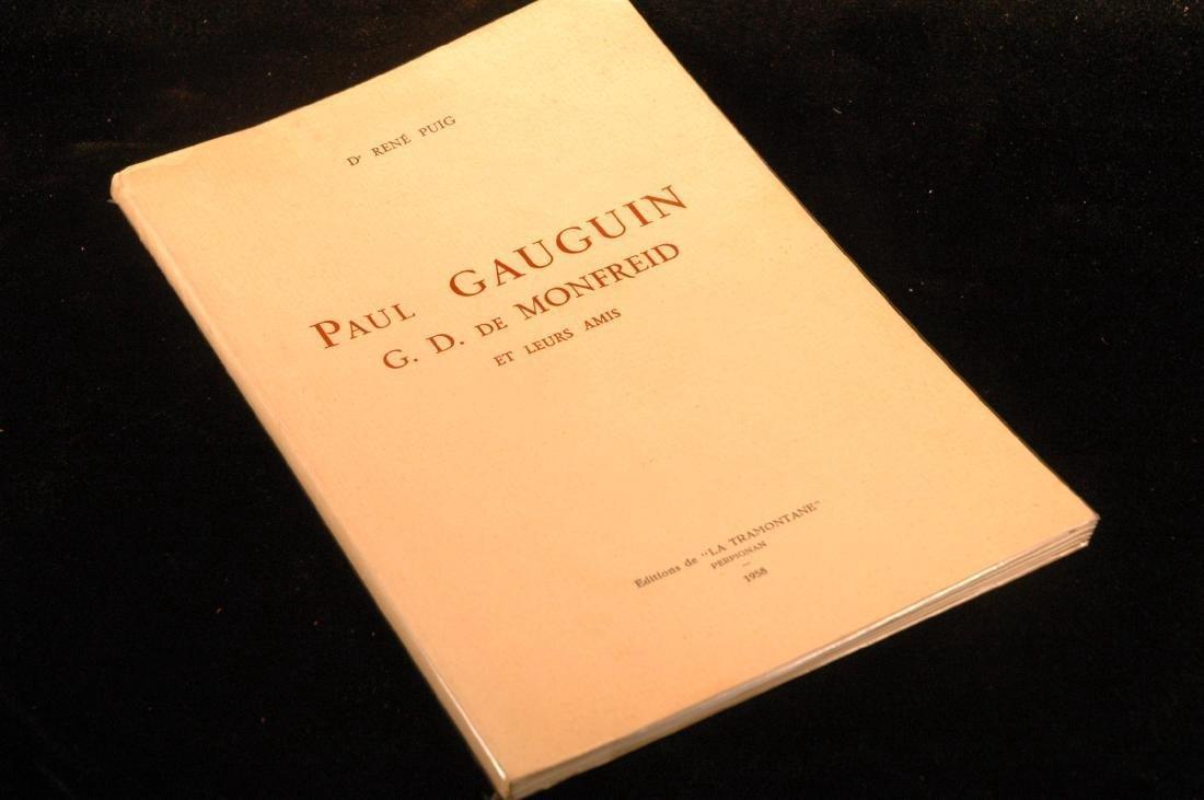 Paul Gauguin G.D. De Monfreid Et Leurs Amis