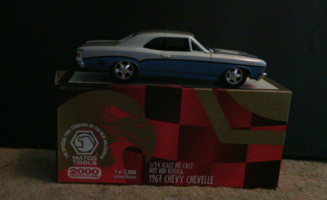 1967 Chevy Chevelle Model Car