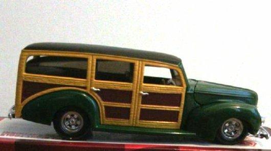 1940 Ford Woody Model Car