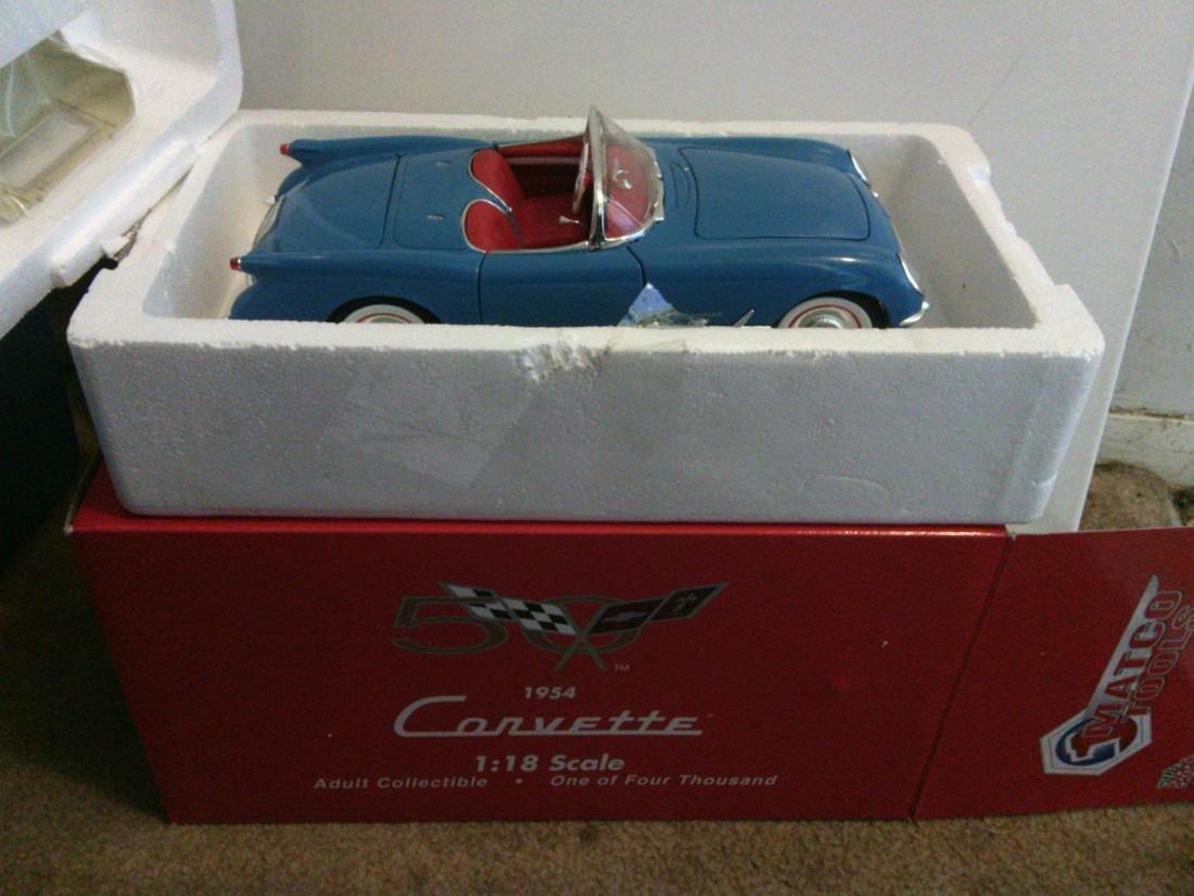 1954 Corvette Model Car