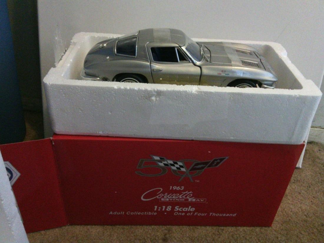 1963 Corvette Sting Ray Model Car