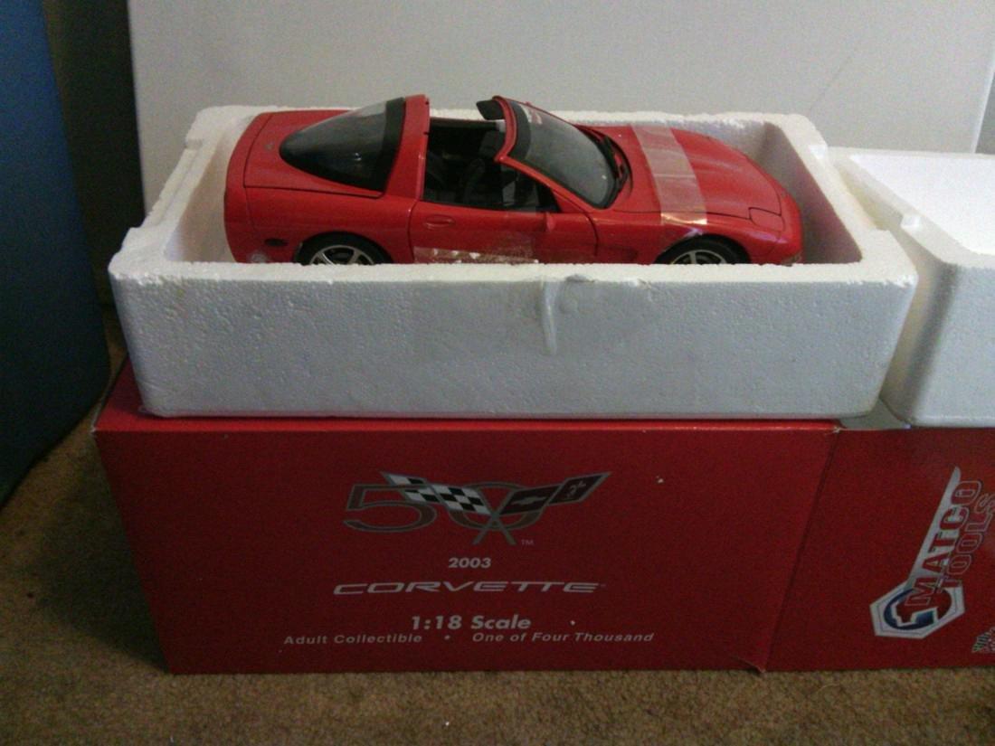 2003 Corvette Model Car