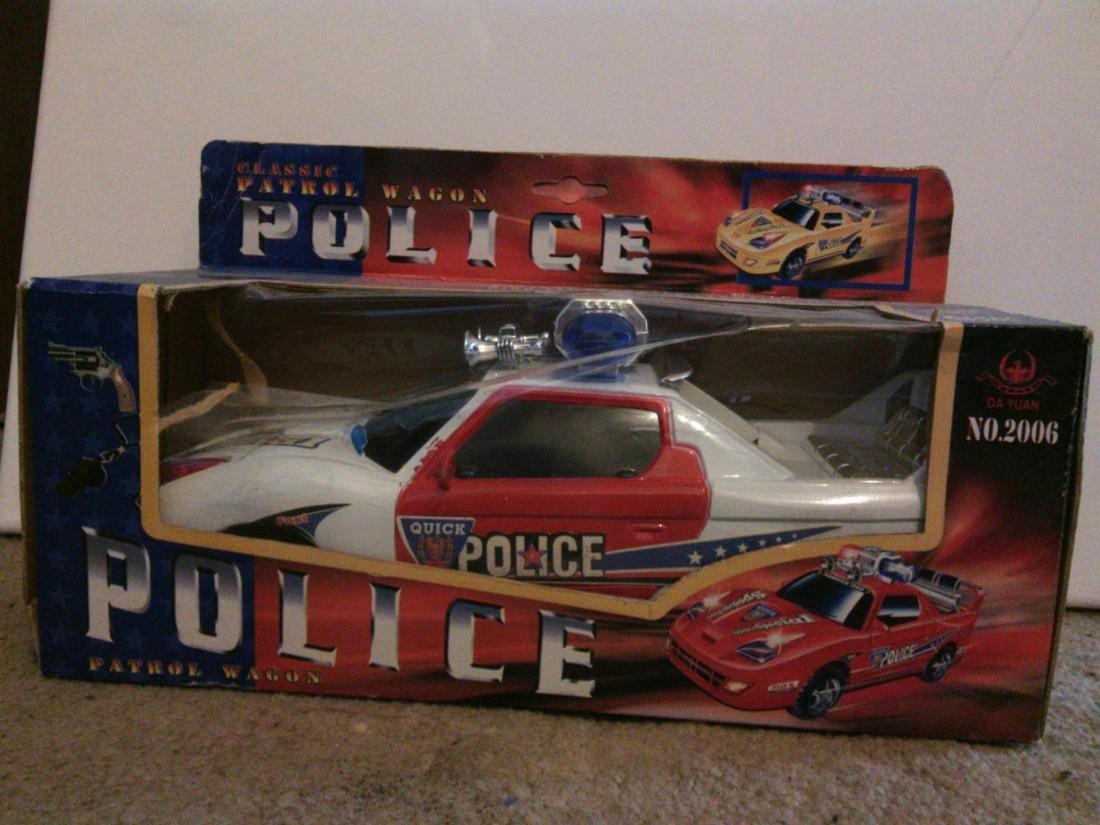 Police Patrol Wagon Model Car