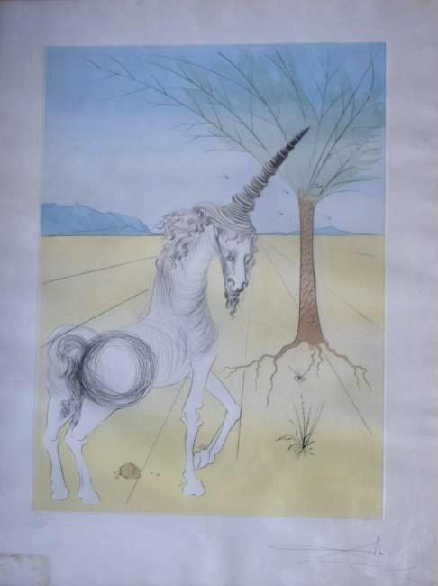 Salvador Dali 12 Tribes Series, Joseph