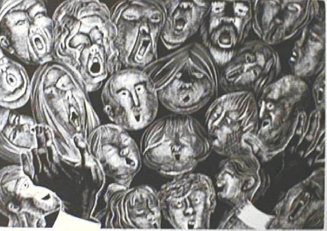 Lou Barlow Chorus Wood Engraving