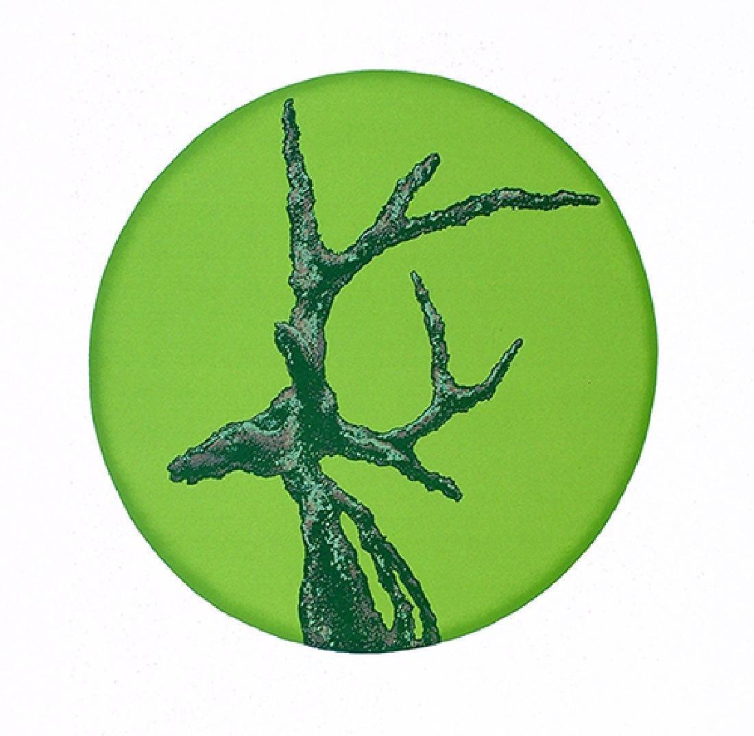 Yuyu Yang Serigraph Deer's Eagerness