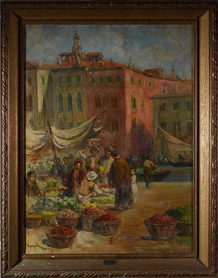 Imre Gergely Painting Coast Fair