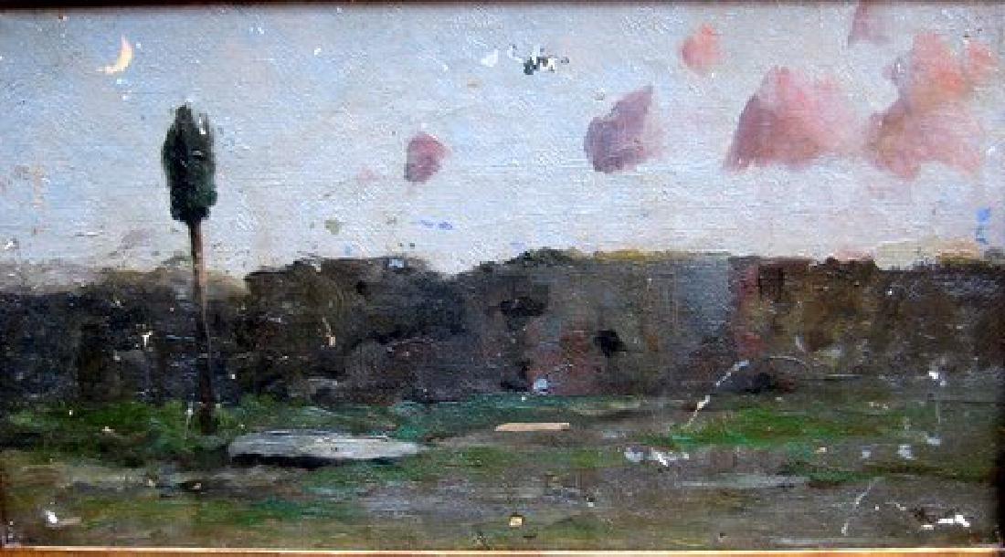 Ricardo Urgell Y Carreras Painting Landscape