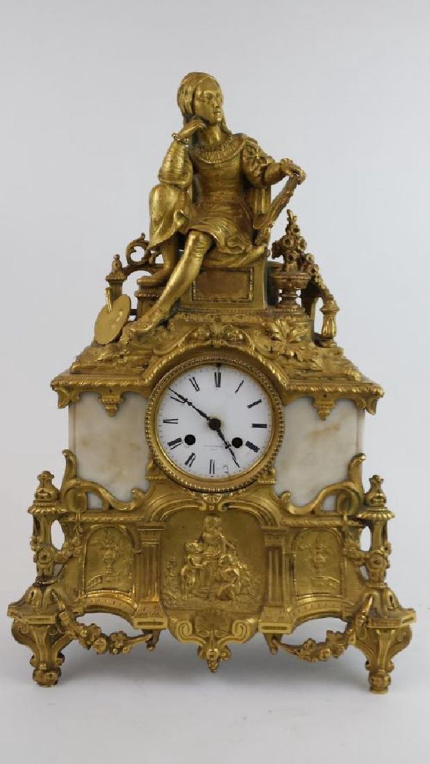 Antique French Ormalu Clock