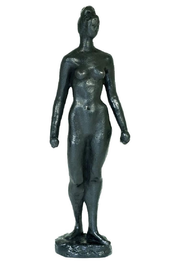 Charlotte van Pallandt, Bronze sculpture, Ineke
