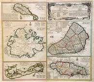 Homann Heirs: Antique Map of British West Indies, 1740