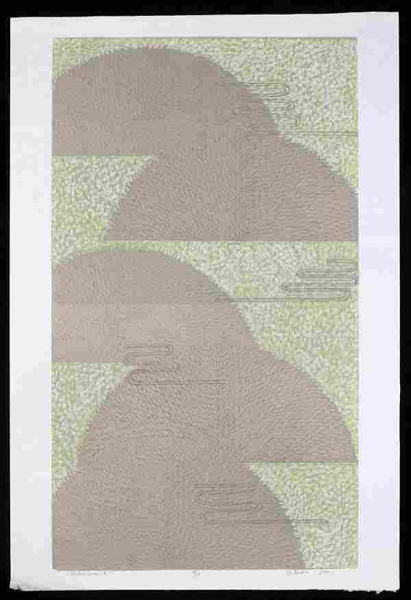 Sakiko Ide Silkscreen Serigraph