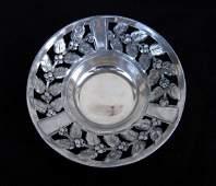 Antique German Kayser Art Nouveau Silver Plate Bowl