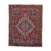 Vintage Persian Bakhtiari Handmade Rug 10x12