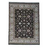 Wool Indo Tabriz Hand Knotted Oriental Rug 8.10x12