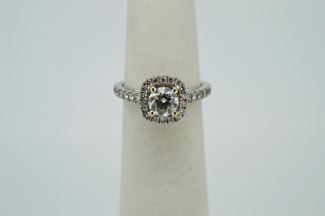 Ladies 14k White Gold & Diamond Ring .3ct