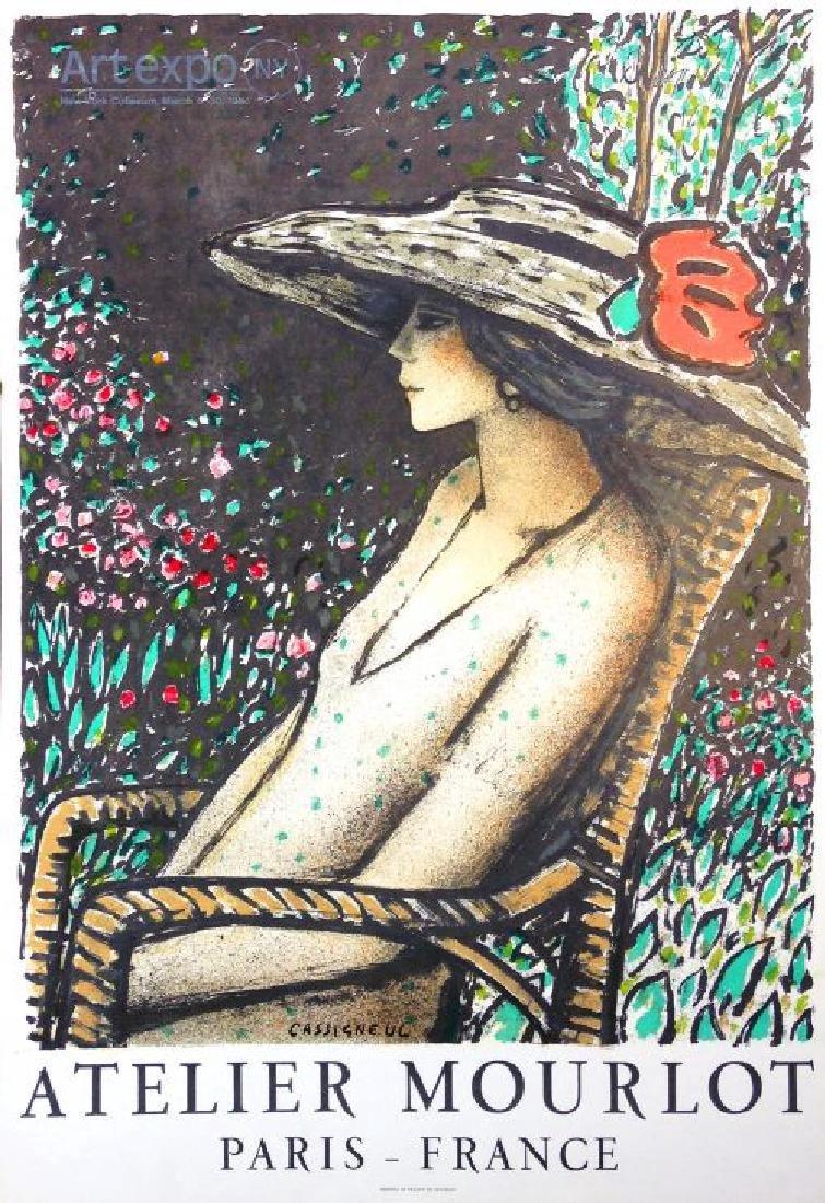 Jean Pierre Cassigneul Artist Poster