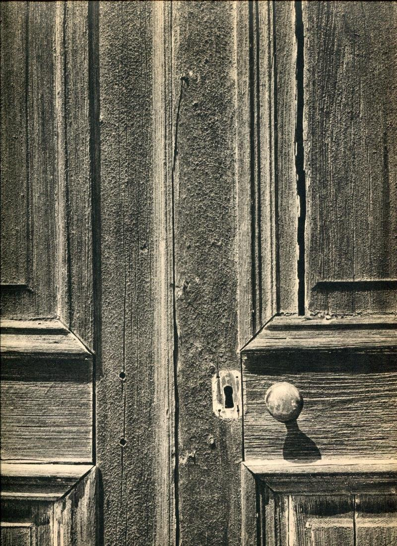 ANSEL ADAMS - Weathered Door