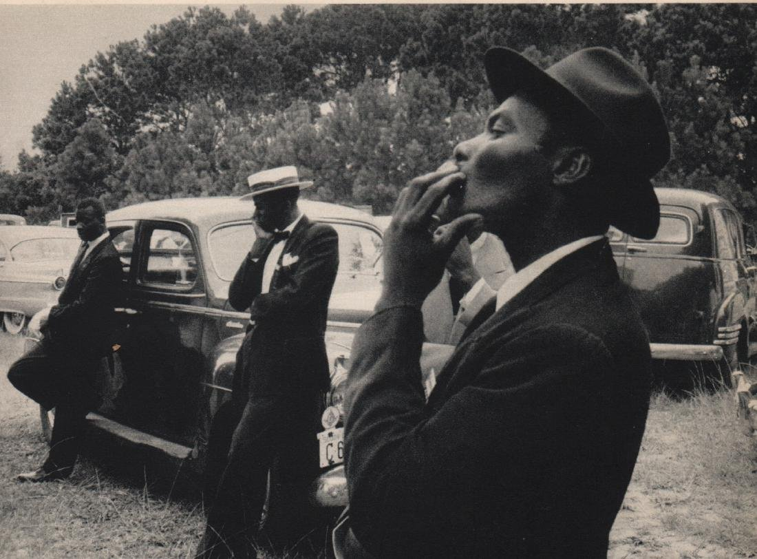 ROBERT FRANK - Funeral. St Helena, South Carolina