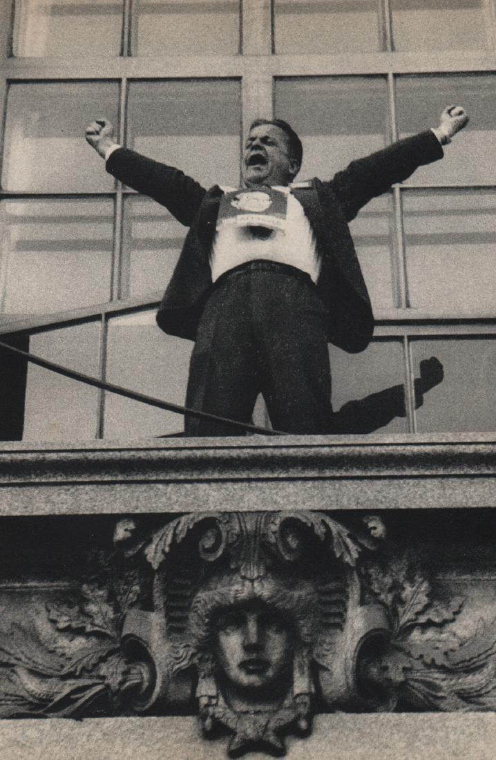 ROBERT FRANK - Political Rally. Chicago