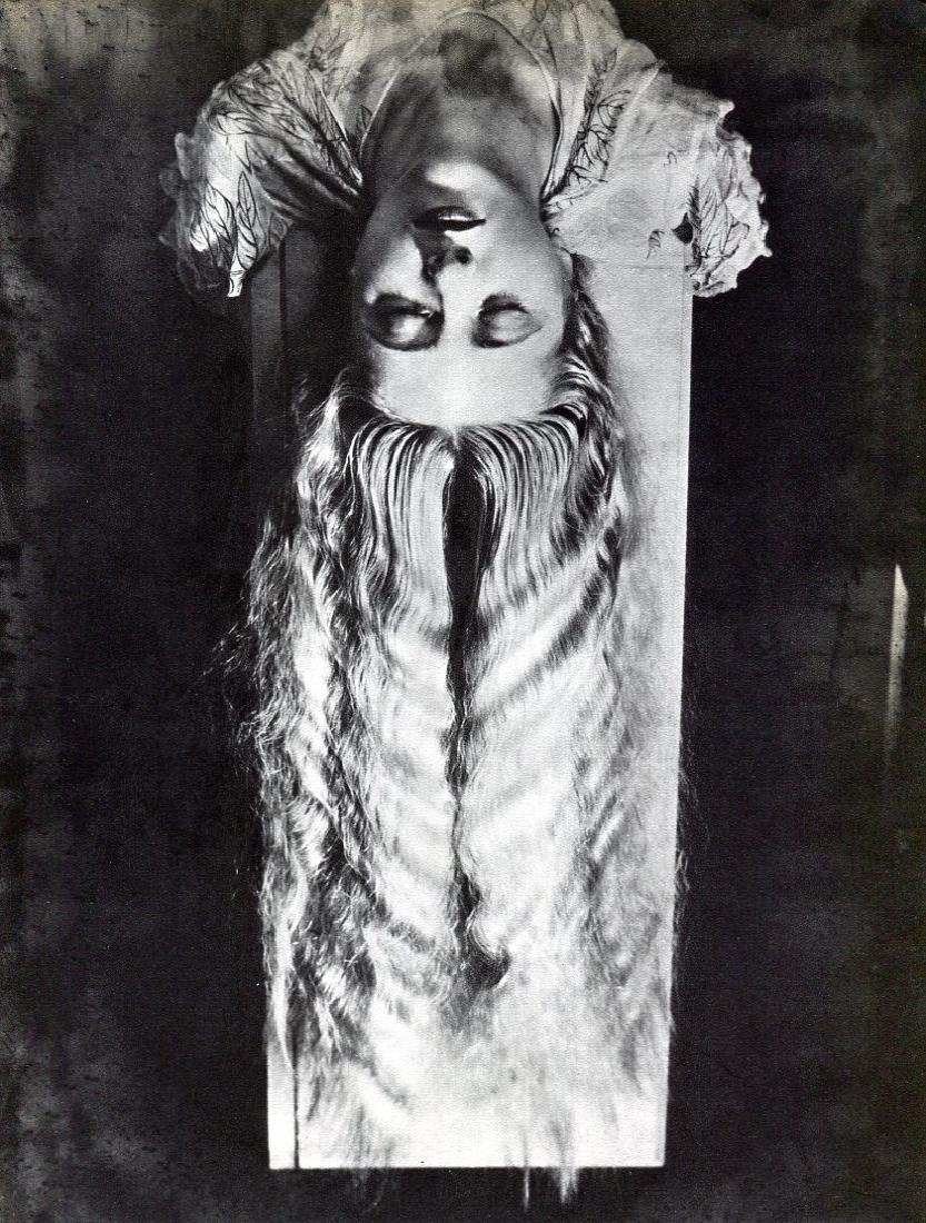 MAN RAY - Blonde with long hair
