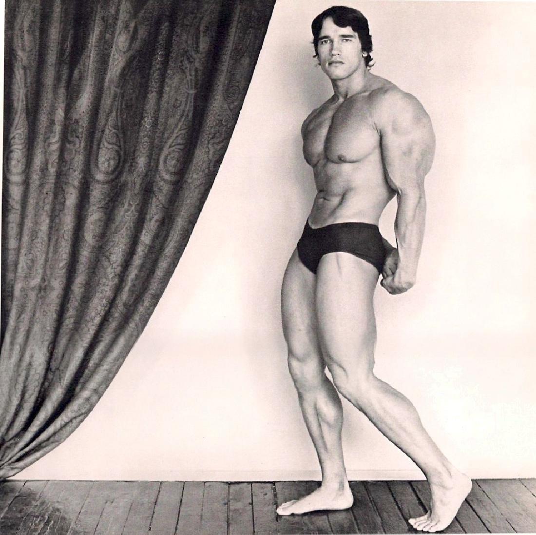 MAPPLETHORPE - Arnold Schwarzenegger, 1976