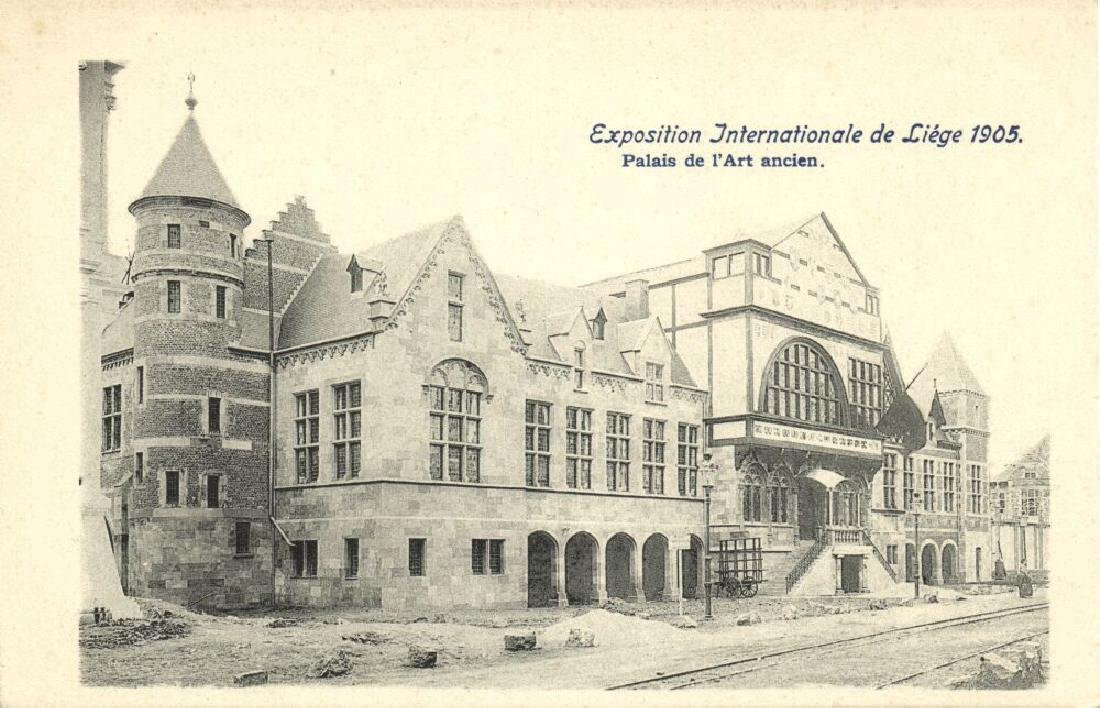 Lot of 9 Postcards International Expo 1905 Belgium - 3