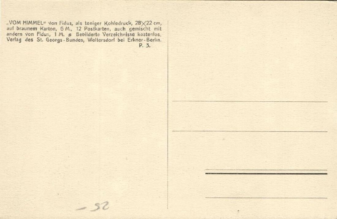 Lot of 3 Postcards, German Symbolist Artist Fidus - 6