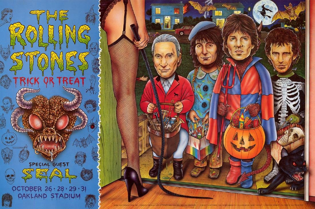1994 Rolling Stones Poster