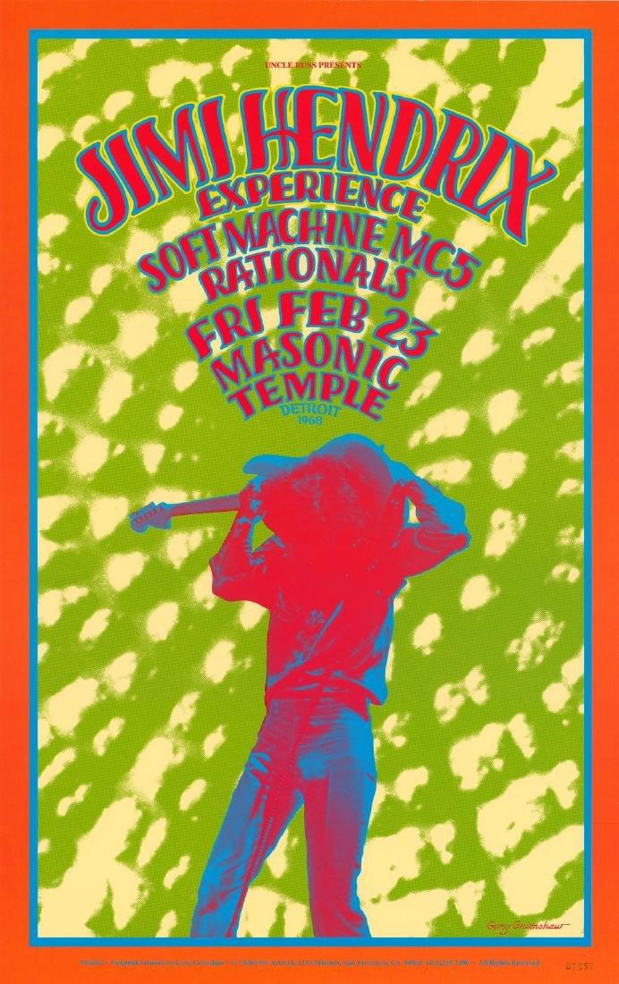 1968 Jimi Hendrix Poster