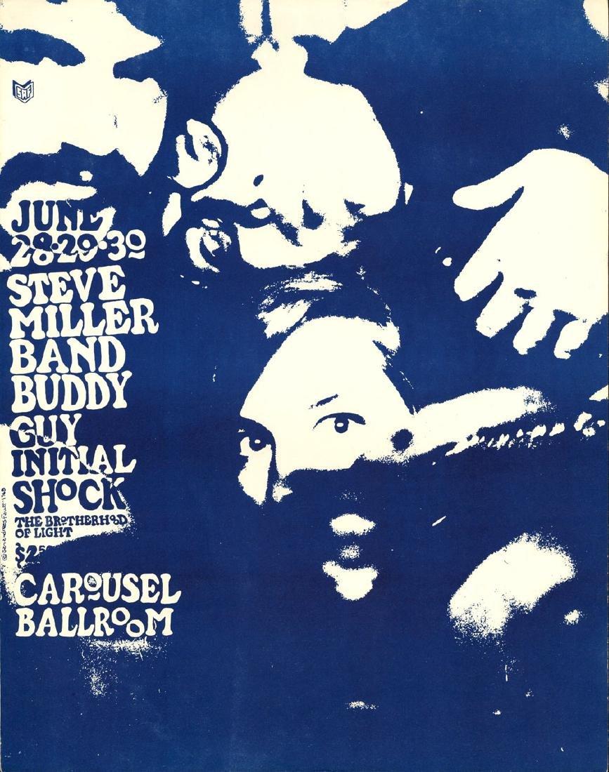 Scarce Steve Miller Carousel Ballroom Poster