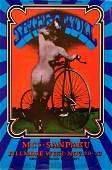 Scarce 1969 Jethro Tull Fillmore Poster