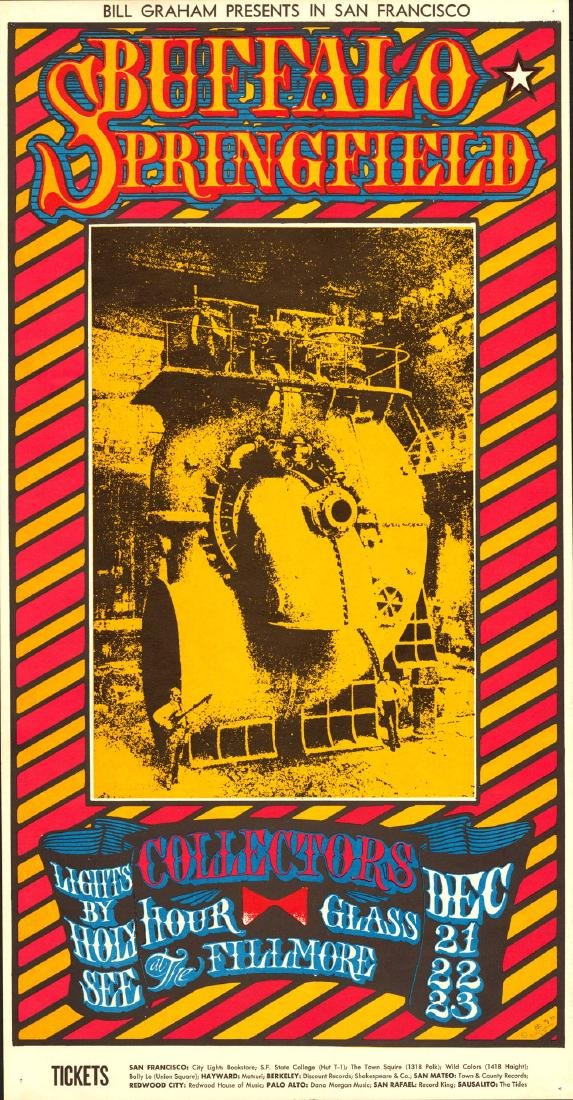 Interesting Bill Graham Poster Featuring Buffalo