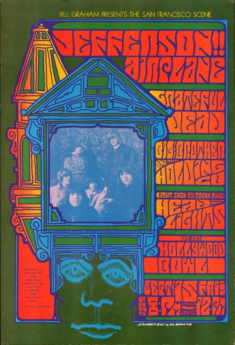 Scarce BG-81 Grateful Dead Jefferson Airplane Poster