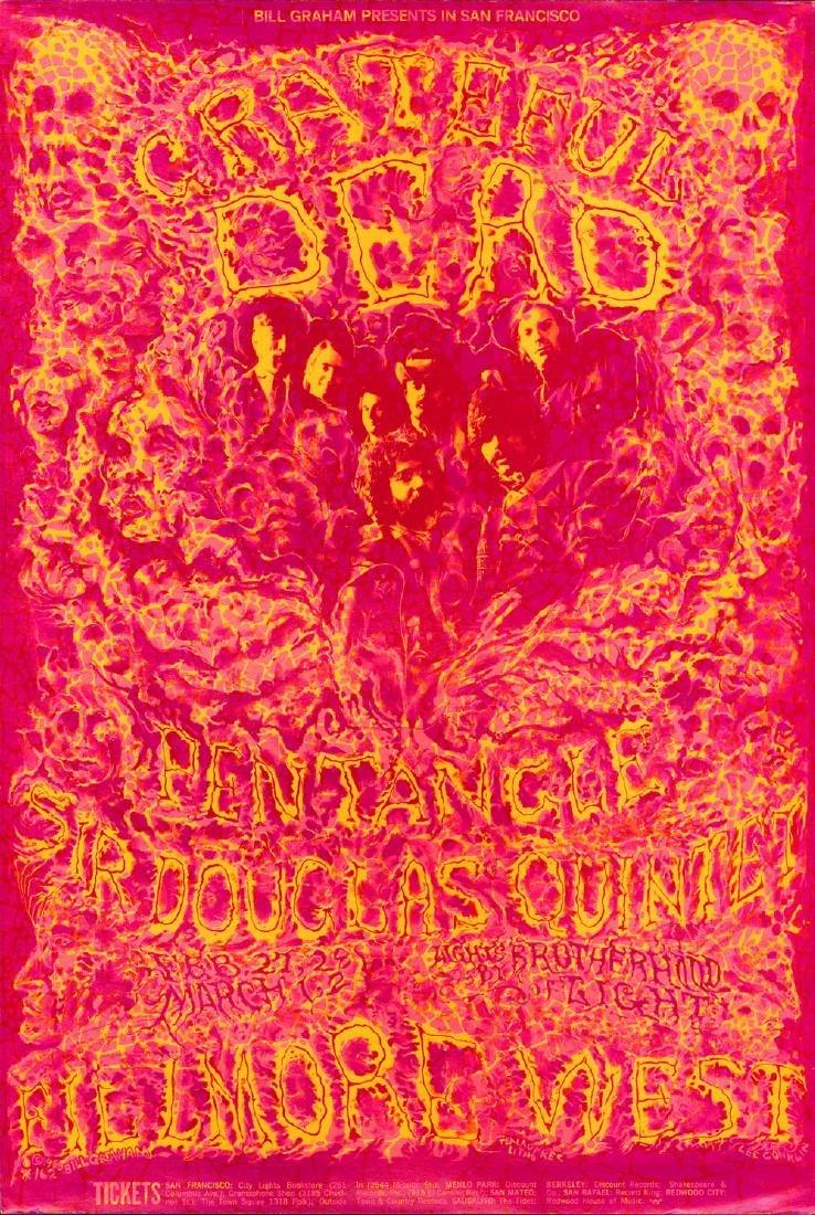 Rare BG-162 Grateful Dead Poster