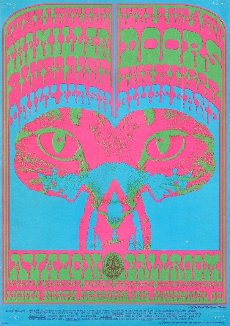 Rare and Popular 1967 Doors Poster