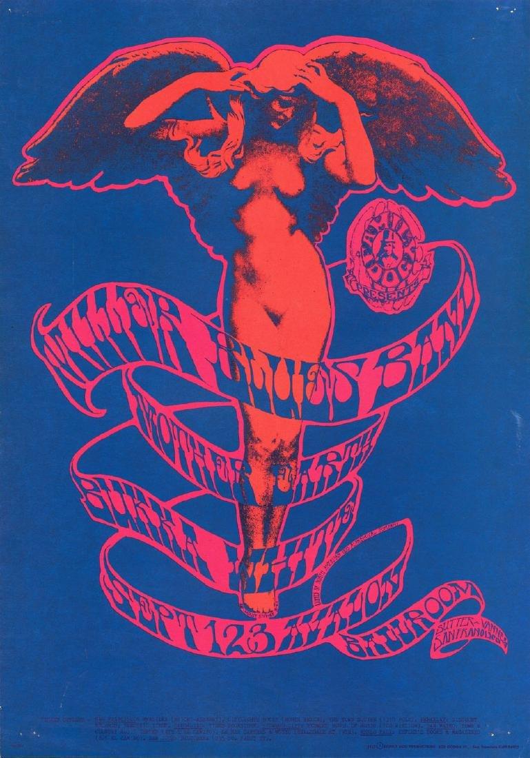 Beautiful 1967 Steve Miller Poster
