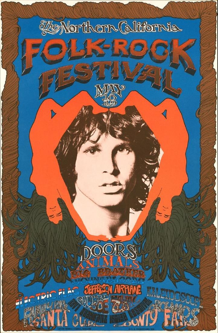 Superb AOR 2.341 Doors Poster
