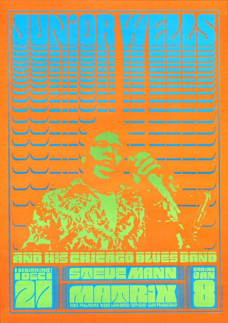 Colorful NR-1 Junior Wells Poster