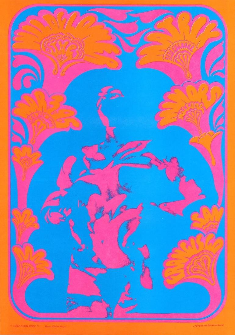 Vibrant NR-9 Wildflower Poster